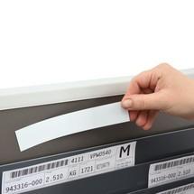 Magnetyczne tabliczki opisowe do tablicy do sortowania kart