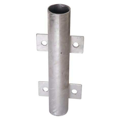 Manguito de inserción para barra|viga de protección, fijación lateral para desmontaje