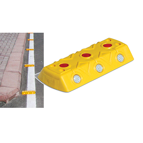 Markierungsnagel, 100x220x32mm, gelb