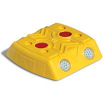 Markierungsnagel, 120x120x28mm, gelb