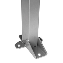 Maschinen-Schutzgitter, (Eck-)Stützen SMART FIX für Höhe 1400 - 2200mm
