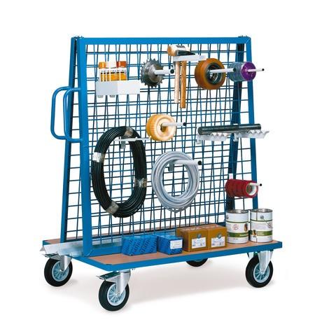 Materiaalwagen fetra® tweezijdig. Capaciteit 500 kg