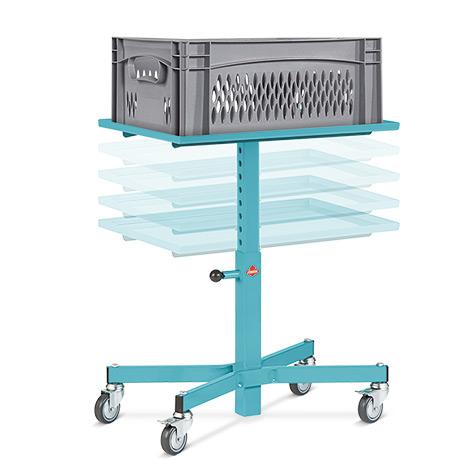 Materialständer Ameise®. Höhenverstellbar