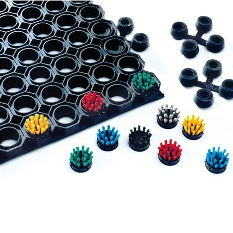 Mattenverbinder für Schmutzfangmatte mit Wabenprofil