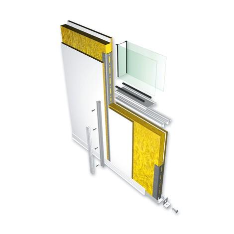 MDS Raumsysteme: Ganzglastür für flexibles Trennwand-System