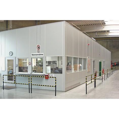 MDS Raumsysteme: Mittelverglasung für flexibles Trennwand-System