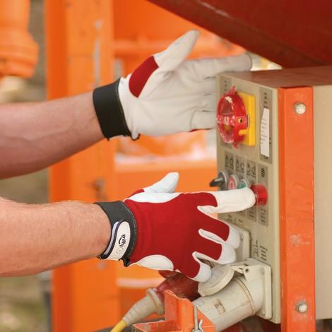 Mechanische Schutzhandschuhe Montage