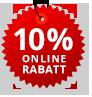 Jetzt online bestellen und Rabatt sichern