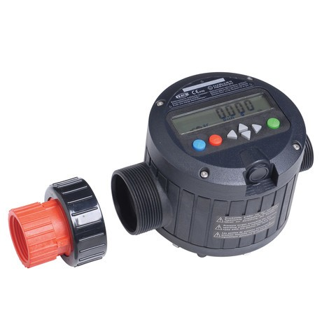 Medidor de flujo líquido PP