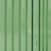 Meerprijs voor buitenwandlak voor gevaarlijke stoffen container WVK 1-3, hxbxd 2.520 x 2.100 x 1.140 mm