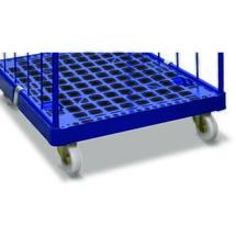 Meerprijs voor optionele wieluitrusting voor rolcontainer