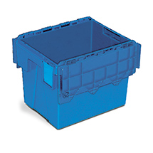 Mehrwegstapelbehälter aus Polypropylen. Inhalt bis 75 Liter