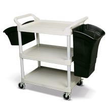 Mehrzweckbehälter für Tischwagen und Etagenwagen aus Polypropylen
