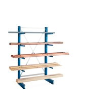 META cantilever rack, base unit, one-sided, load capacity up to 220 kg
