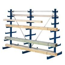 META cantilever rack, double-sided, load capacity 150 kg