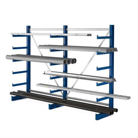 META cantilever rack, one-sided, load capacity 200 kg