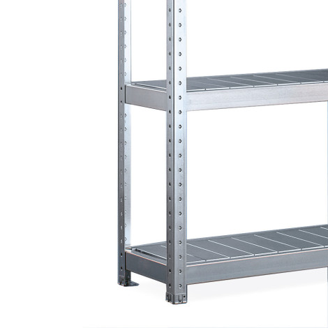 META wide-span rack, with steel panels, base unit