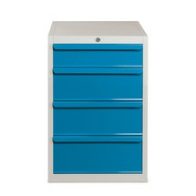 Metal cabinet, drawer capacity 70kg, BASIC