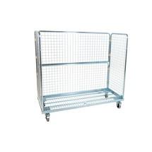 Metalen rolcontainer, 3-zijdig