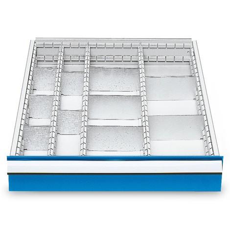 Metall-Schubladeneinteilung für Reihenwerkbänke