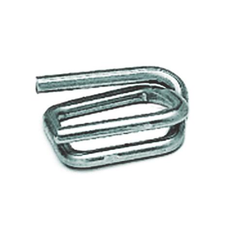 Metallschnallen für PET-Kraftband. Breite 13mm + 16mm+ 19mm