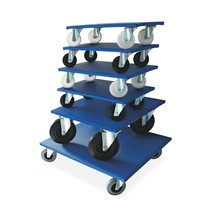 Meubelroller BASIC met houten platform. Capaciteit tot 750 kg