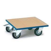 Meubelroller fetra® met houten plateau