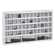 Meuble à casiers PAVOY, 45compartiments, HxlxP 132x148x220mm