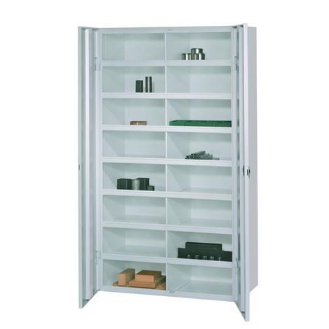 Meuble à casiers PAVOY avec portes, 16compartiments, HxlxP 180x455x470mm