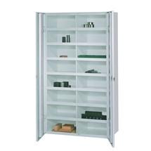 Meuble à casiers PAVOY avec portes, 32compartiments, HxlxP 180x220x470mm