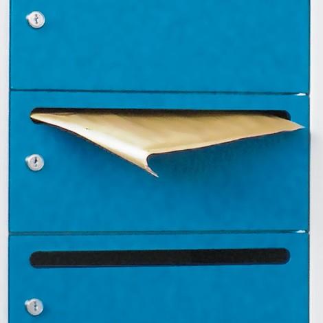 Meuble de tri du courrier PAVOY, 2x10compartiments, HxlxP 1850x830x500mm