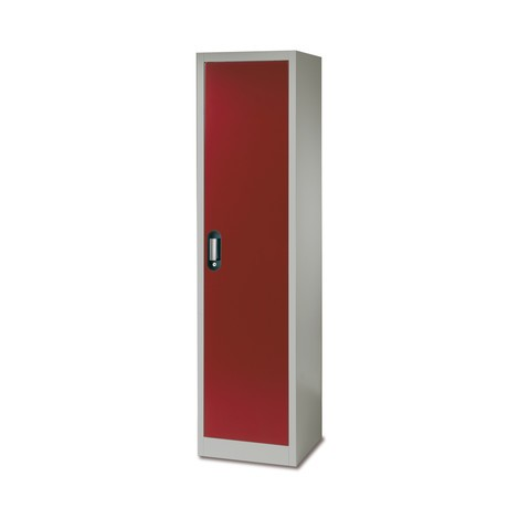 Milieukast, hoogte 1950mm, 1 deur, diverse kleuren