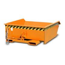 Mini contenitore ribaltabile, altezza costruttiva estremamente ribassata, verniciato, volume 0,46 m³