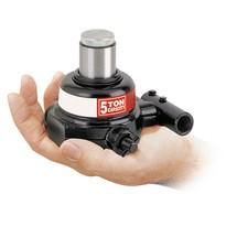 Mini-vijzels, hydraulisch. Hefhoogte tot 38 mm. Capaciteit tot 20.000 kg