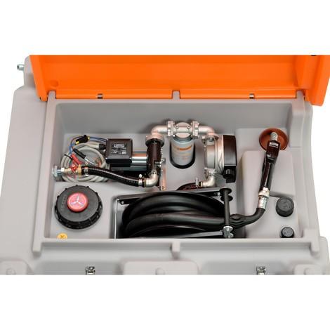 Mobiel dieseltanksysteem CEMO 980 l Premium