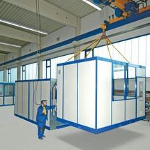 Mobiel ruimtesysteem voor binnen, LxBxH 1045 x 1045 x 2680mm