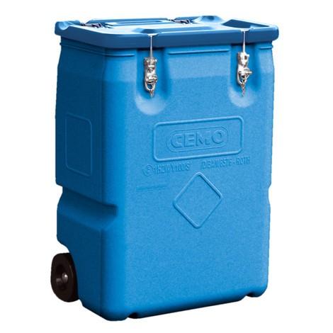 Mobil-Box CEMO, goedgekeurd voor gevaarlijke stoffen