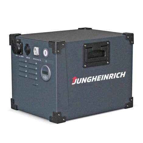 Mobil Powerbox Jungheinrich, med litiumjonbatteri