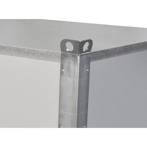 Mobile Brandschutzabdeckung inkl. Fitting-Set für Kühlwasseranschluss