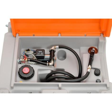 Mobile Diesel-Tankanlage CEMO 980 l Basic