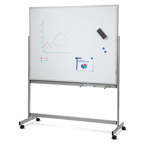 Mobile Planer mit Whiteboard