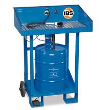 Mobiler Kleinteile-Reiniger für 50-Liter-Fässer