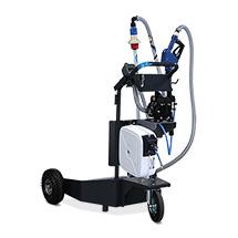 Mobiles AdBlue Abgabegerät, Automatische Zapfpistole, Elektr.-Zähler, 15m geschl.Luft-Schlauchaufroller