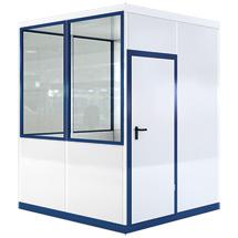 Mobiles Raumsystem für Außen, LxBxH 2045x2045x2800 mm 1050 kg
