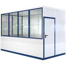 Mobiles Raumsystem für Außen, LxBxH 4045x2045x2800 mm 1600 kg
