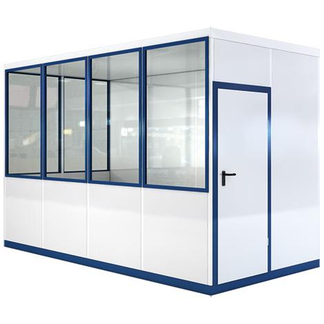 Mobiles Raumsystem für Innen, LxBxH 4045x2045x2680 mm 1600 kg