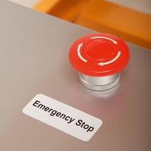 Mobilní zvedací stůl Ameise® sdvojitým nůžkovým mechanismem, elektrický