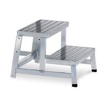 Module-werkplatform van aluminium. Basismodule