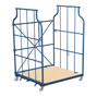 Möbel-Corlette® stapelbar. Rückenwand mit Querstreben, Tragkraft 600kg