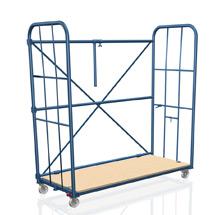 Möbel-Rollbox mit Gitterseiten + Rückenstreben